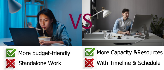 Freelance vs Agency